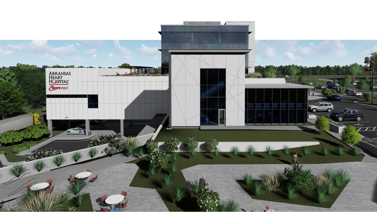 Encore medical building rendering